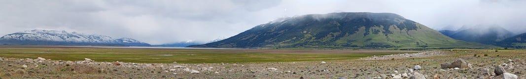El Calafate, lodowa park narodowy, Patagonia, Argentyna, Ameryka Południowa zdjęcie stock