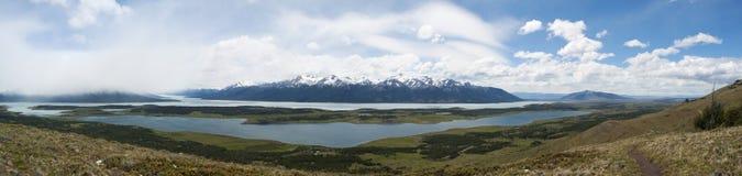 El Calafate, lodowa park narodowy, Patagonia, Argentyna, Ameryka Południowa Zdjęcia Stock