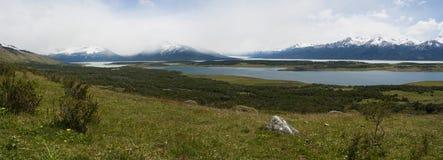 EL Calafate, parc national de glaciers, Patagonia, Argentine, Amérique du Sud Images stock