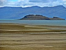 El Calafate, Argentina. El Calafate, popularly called `Calafate`, is a city located on the southern shore of Lake Argentino, in the Patagonia region, in the royalty free stock photo