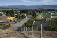 El Calafate. South America, Argentina, El Calafate, Lago Argentino stock images