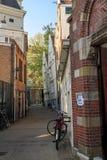 El callejón a la abadía Begijnhof Fotos de archivo
