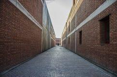 El callejón reservado fotografía de archivo