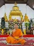El calmness de un monje, Foto de archivo libre de regalías