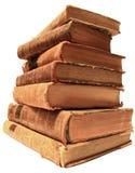 El calor de libros antiguos Imágenes de archivo libres de regalías