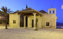 El Calvario (calvary) church in Lorca, Spain Royalty Free Stock Photo