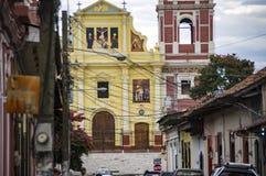 El Calvario Church in Leon, Nicaragua Stock Photos
