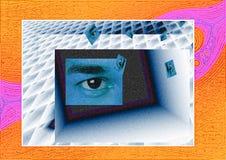 El cambiar a otro dimension-1 Imagenes de archivo