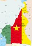 El Camerún ilustración del vector