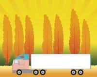 El camión imagen de archivo