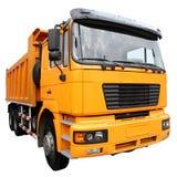 El camión amarillo imagenes de archivo