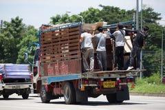 El camión de Nim ve a la compañía 1988 de Seng Transport Imágenes de archivo libres de regalías
