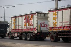 El camión de Nim ve a Seng Transport Foto de archivo libre de regalías