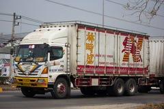 El camión de Nim ve a Seng Transport Fotografía de archivo libre de regalías