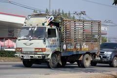 El camión de Nim ve a Seng Transport Fotografía de archivo