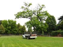El camión del jardinero Foto de archivo