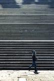 El caminar Fotografía de archivo