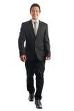 El caminar asiático del hombre de negocios Imagen de archivo