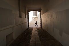El caminar cerca Imagenes de archivo