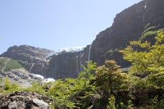 El caminar cerca del glaciar Aventura en San Carlos de Bariloch Imagenes de archivo