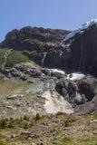 El caminar cerca del glaciar Aventura en San Carlos de Bariloch Foto de archivo libre de regalías