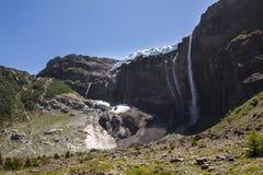 El caminar cerca del glaciar Aventura en San Carlos de Bariloch Fotos de archivo libres de regalías