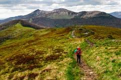 El caminar con Tatras durante verano Fotos de archivo