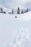El caminar de Backcountry Imagenes de archivo