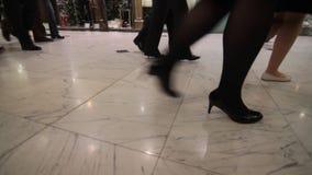 El caminar de la gente metrajes