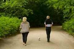 El caminar de la gente Fotografía de archivo