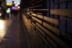 El caminar de la gente de la sombra Imagenes de archivo
