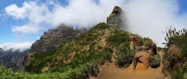 El caminar de Madeira Imagen de archivo libre de regalías