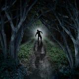 El caminar del monstruo del horror