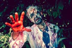 El caminar del zombi Foto de archivo
