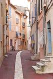 El caminar en Cannes Imagen de archivo