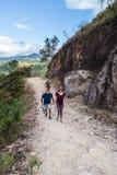 El caminar en Costa Rica fotografía de archivo
