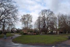 El caminar en Hyde Park Foto de archivo