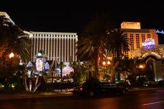 El caminar en la tira de Las Vegas fotos de archivo