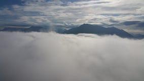 El caminar en las nubes Imagen de archivo