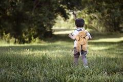 El caminar en el parque Fotos de archivo