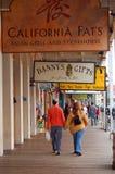 El caminar en Sacramento vieja imagenes de archivo