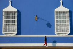 El caminar en Trujillo Imagenes de archivo