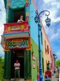 El Caminito Royalty Free Stock Photo