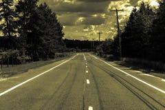 El camino Imagen de archivo libre de regalías