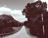 El camino 2 Foto de archivo