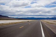 El camino abierto Foto de archivo