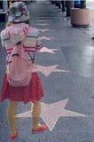 El camino al estrellato Imagen de archivo libre de regalías
