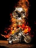El camino al infierno ilustración del vector