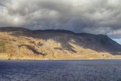El camino a Balos, Creta Imágenes de archivo libres de regalías
