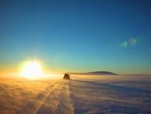 El camino a continuación imagen de archivo